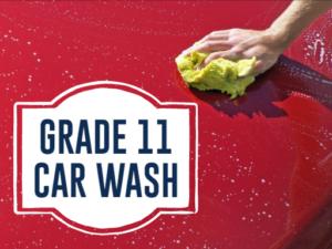 Grade 11 Fundraiser-Car Wash