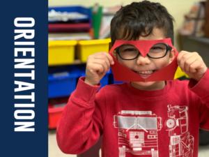 Preschool and Kindergarten Orientation