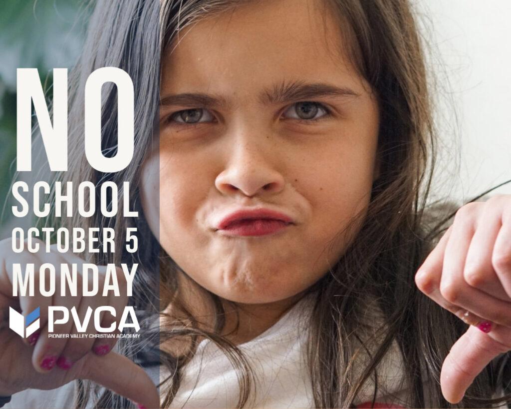 No School-Teacher Professional Day